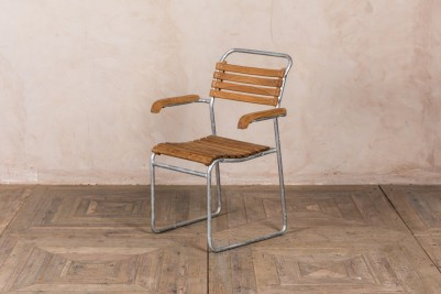 galvanised outdoor chair
