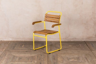 slatted stacking chairs