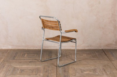 vintage style stacking chair