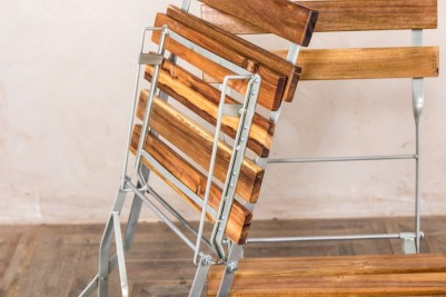 slatted folding chairs