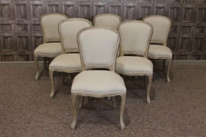 french cafe chairs in limed oak