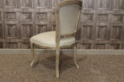 limed oak bistro chairs