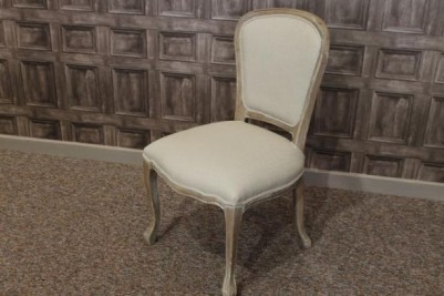 limed oak french chairs