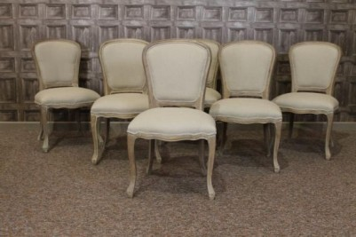 limed oak french cafe chairs