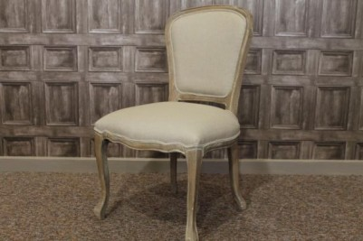 weathered oak french cafe chairs