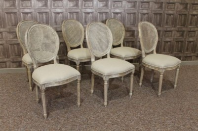bergere dining chairs
