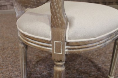 limed bergere chairs