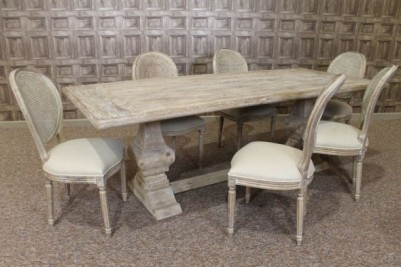 limed oak dining suite