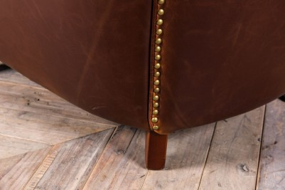 studded leather seating