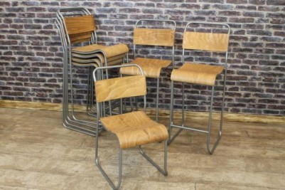 tall bar stools stacking