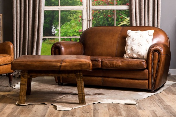 Fairmont Art Deco Style Leather Seating Range