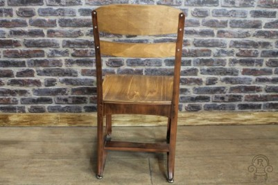 copper frame Eton dining chairs