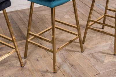 backless gold bar stools