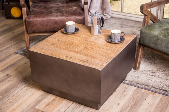 Concrete Effect Coffee Table