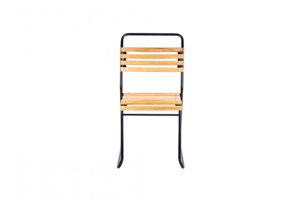 Dartmouth Outdoor Slatted Stacking Chair