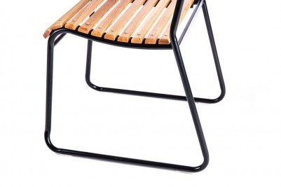 steel frame stacking chair