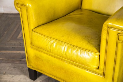 bright leather chair
