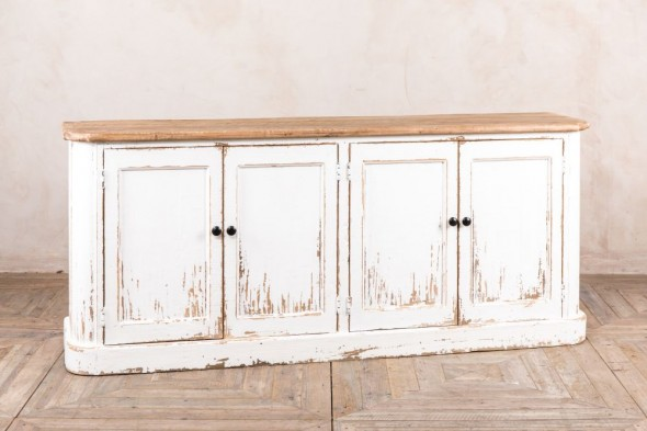 Distressed Painted Sideboard