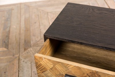 Scandinavian style wooden side table