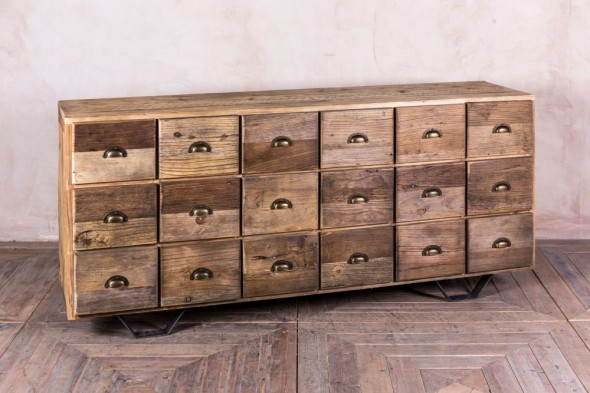 Industrial Style Multi Drawer Unit