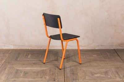 orange eco friendly dining chair