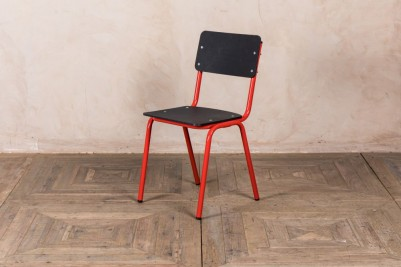 red eco friendly chairs
