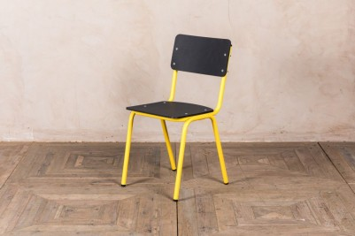 yellow eco friendly dining chair