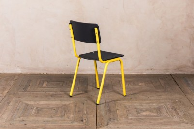 yellow recycled plastic chair