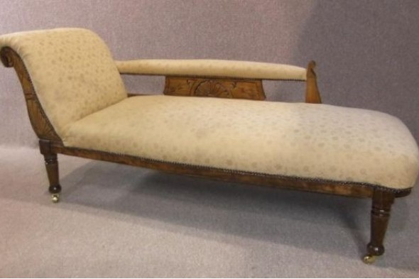 Edwardian Chaise Longue