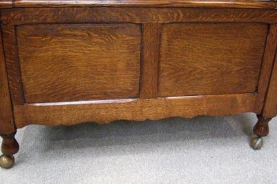 Edwardian Oak pew