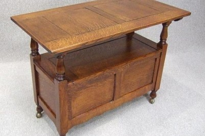Edwardian Oak Settle