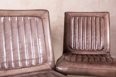 clay leather kitchen chairs