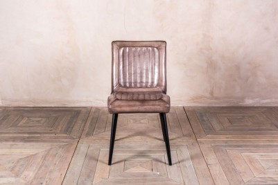 vintage style leather chair