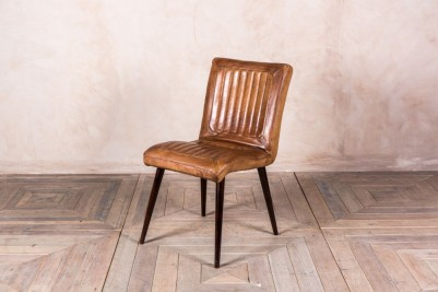 vintage style ribbed chairs