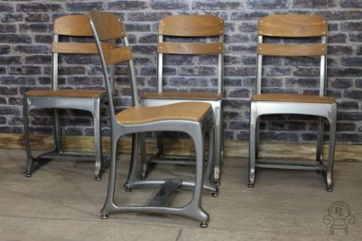 industrial style school chair