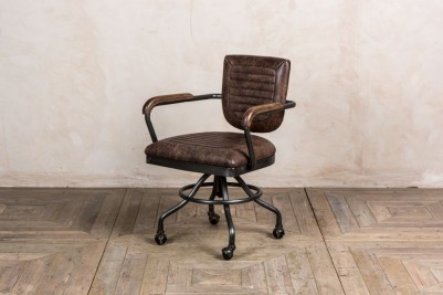 hickory brown office chair