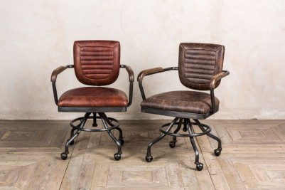 vintage style office chair