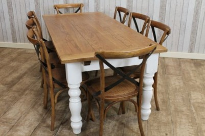 country farmhouse extending table