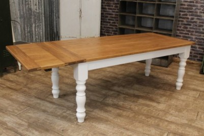 extending farmhouse kitchen table