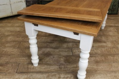 extending handmade farmhouse table