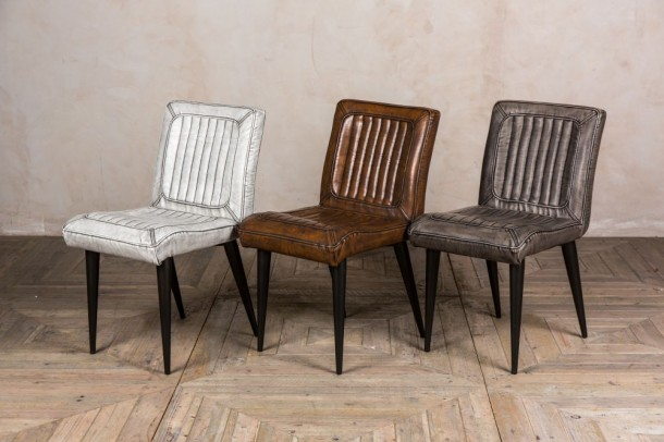 Dino Faux Leather Dining Chairs
