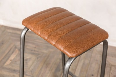 fluted bar stool