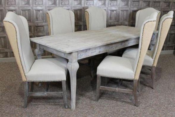 White Washed Oak Dining Room Sets Jonathan Steele - White washed oak dining table