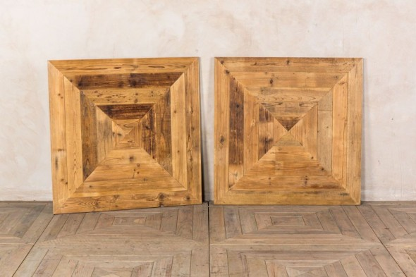 Chevron Reclaimed Pine Flooring