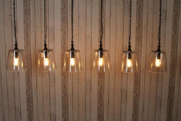 Six Bulb Industrial Style String Lights