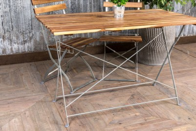 metal outdoor tables