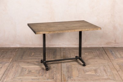 cast iron base table