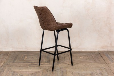 faux suede breakfast bar stool