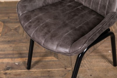 slate grey dining chairs