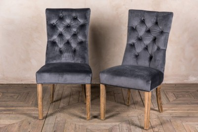 velvet dining chairs